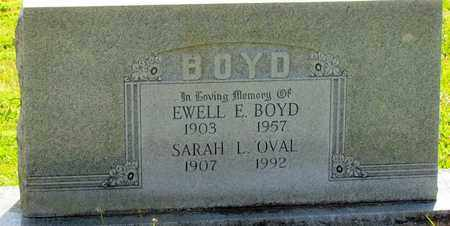 BOYD, EWELL EVERETT - Madison County, Arkansas | EWELL EVERETT BOYD - Arkansas Gravestone Photos