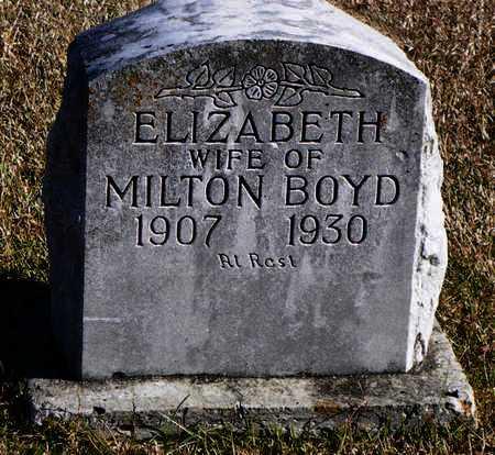 BOYD, ELIZABETH - Madison County, Arkansas | ELIZABETH BOYD - Arkansas Gravestone Photos