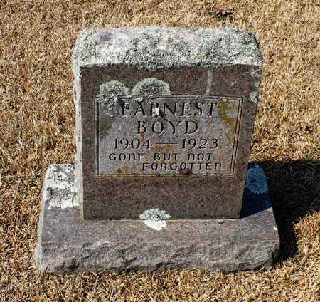 BOYD, EARNEST - Madison County, Arkansas | EARNEST BOYD - Arkansas Gravestone Photos