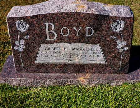 BOYD, GILBERT F. - Madison County, Arkansas | GILBERT F. BOYD - Arkansas Gravestone Photos