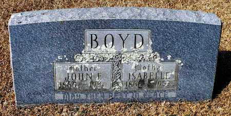 BOYD, ISABELLE - Madison County, Arkansas   ISABELLE BOYD - Arkansas Gravestone Photos