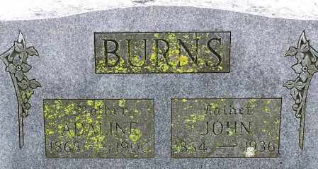 BURNS, JOHN - Madison County, Arkansas | JOHN BURNS - Arkansas Gravestone Photos