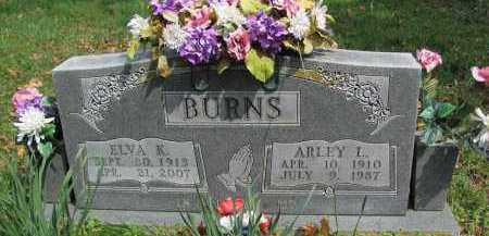 BURNS, ARLEY L. - Madison County, Arkansas | ARLEY L. BURNS - Arkansas Gravestone Photos