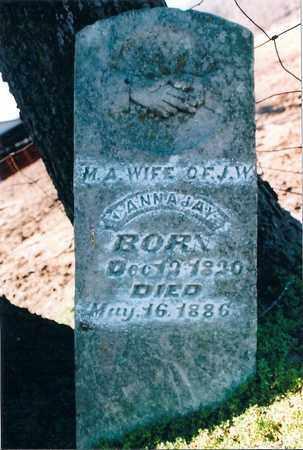 GERON CANNADAY, MINERVA A. - Madison County, Arkansas | MINERVA A. GERON CANNADAY - Arkansas Gravestone Photos