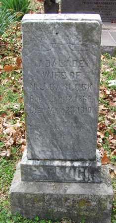 CARLOCK, ADALADE - Madison County, Arkansas | ADALADE CARLOCK - Arkansas Gravestone Photos