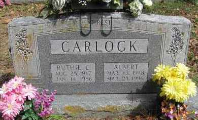 CARLOCK, RUTHIE E. - Madison County, Arkansas | RUTHIE E. CARLOCK - Arkansas Gravestone Photos
