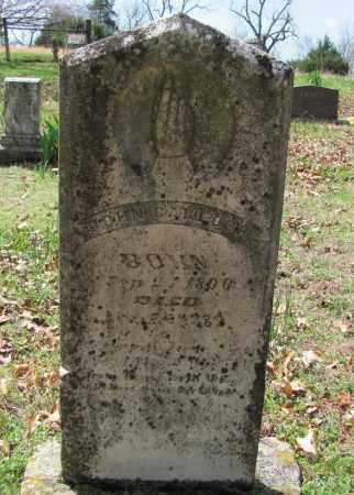 CARLOCK, JOHN CHRISTIAN - Madison County, Arkansas   JOHN CHRISTIAN CARLOCK - Arkansas Gravestone Photos
