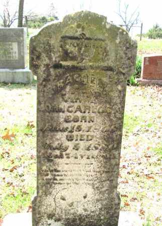 BOLINGER CARLOCK, RACHEL - Madison County, Arkansas | RACHEL BOLINGER CARLOCK - Arkansas Gravestone Photos