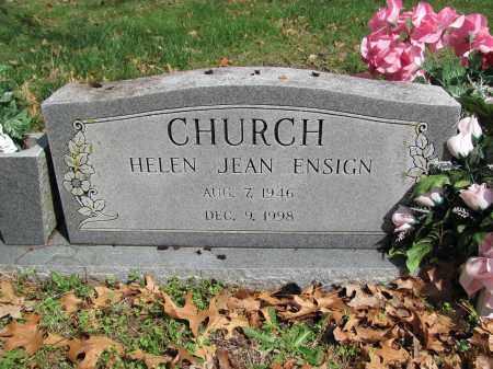 CHURCH, HELEN JEAN - Madison County, Arkansas | HELEN JEAN CHURCH - Arkansas Gravestone Photos