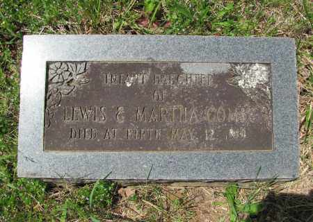 COMBS, INFANT DAUGHTER - Madison County, Arkansas | INFANT DAUGHTER COMBS - Arkansas Gravestone Photos