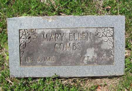 COMBS, MARY ELLEN - Madison County, Arkansas | MARY ELLEN COMBS - Arkansas Gravestone Photos