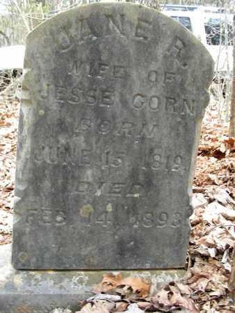 COOK CORN, JANE R. - Madison County, Arkansas   JANE R. COOK CORN - Arkansas Gravestone Photos