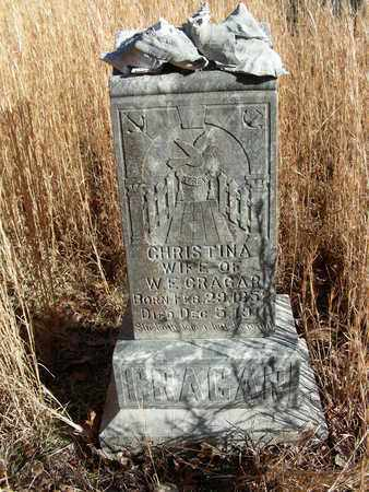 VALLOND CRAGAR, CHRISTINA - Madison County, Arkansas   CHRISTINA VALLOND CRAGAR - Arkansas Gravestone Photos
