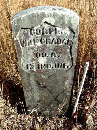 CRAGAR, WILLIAM E. - Madison County, Arkansas | WILLIAM E. CRAGAR - Arkansas Gravestone Photos
