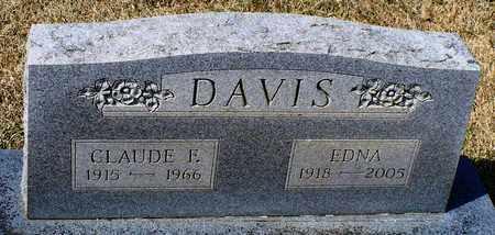 DAVIS, CLAUDE E. - Madison County, Arkansas   CLAUDE E. DAVIS - Arkansas Gravestone Photos