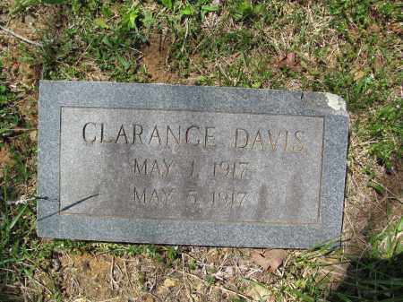 DAVIS, CLARANCE - Madison County, Arkansas | CLARANCE DAVIS - Arkansas Gravestone Photos