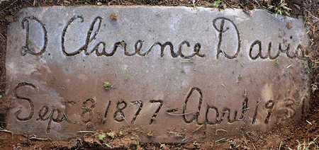 DAVIS, D. CLARENCE - Madison County, Arkansas | D. CLARENCE DAVIS - Arkansas Gravestone Photos