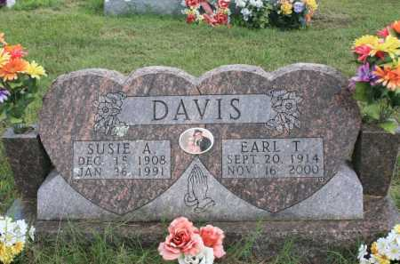 DAVIS, EARL THOMAS - Madison County, Arkansas | EARL THOMAS DAVIS - Arkansas Gravestone Photos