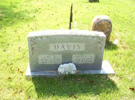 DAVIS, BETTY - Madison County, Arkansas   BETTY DAVIS - Arkansas Gravestone Photos