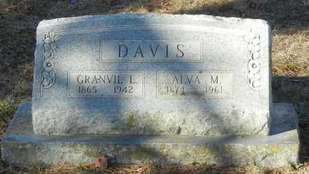 DAVIS, ALVA M - Madison County, Arkansas | ALVA M DAVIS - Arkansas Gravestone Photos