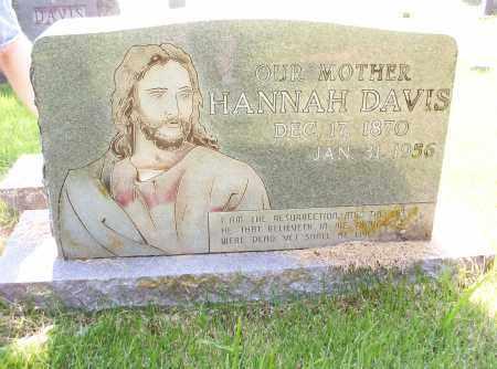 DAVIS, HANNAH M. - Madison County, Arkansas | HANNAH M. DAVIS - Arkansas Gravestone Photos