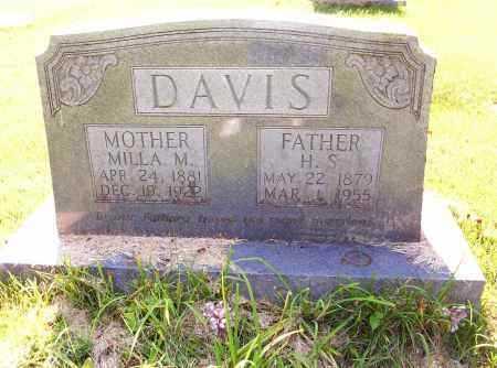 DAVIS, MILLA MAE - Madison County, Arkansas   MILLA MAE DAVIS - Arkansas Gravestone Photos