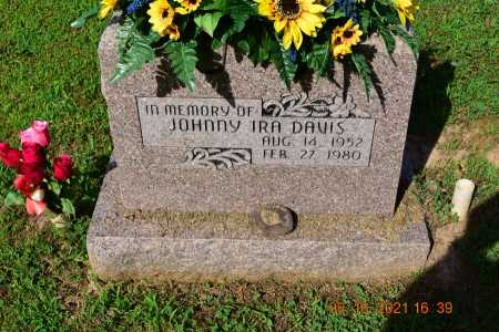 DAVIS, JOHNNY IRA - Madison County, Arkansas | JOHNNY IRA DAVIS - Arkansas Gravestone Photos
