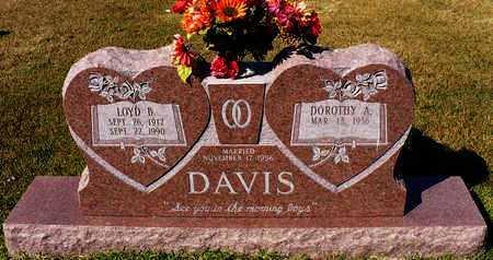 DAVIS, LOYD B. - Madison County, Arkansas | LOYD B. DAVIS - Arkansas Gravestone Photos