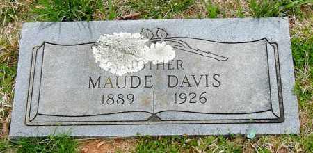 DAVIS, MAUDE - Madison County, Arkansas | MAUDE DAVIS - Arkansas Gravestone Photos