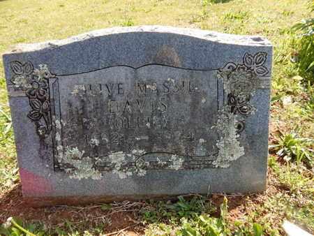 DAVIS, OLIVE - Madison County, Arkansas   OLIVE DAVIS - Arkansas Gravestone Photos