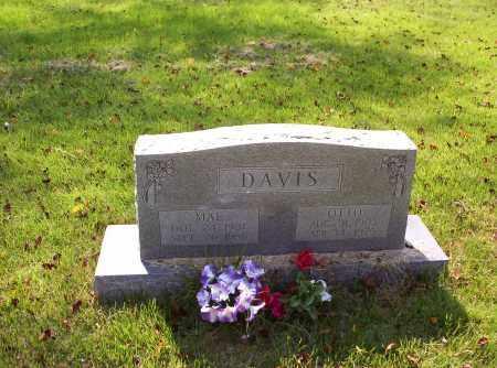 DAVIS, ORA OTTO - Madison County, Arkansas | ORA OTTO DAVIS - Arkansas Gravestone Photos