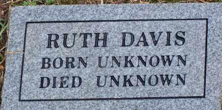 DAVIS, RUTH - Madison County, Arkansas | RUTH DAVIS - Arkansas Gravestone Photos