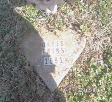 DAVIS, INFANT - Madison County, Arkansas | INFANT DAVIS - Arkansas Gravestone Photos