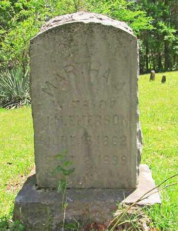 EMERSON, MARTHA A - Madison County, Arkansas   MARTHA A EMERSON - Arkansas Gravestone Photos