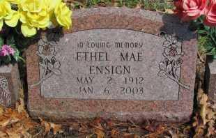 ENSIGN, ETHEL MAE - Madison County, Arkansas | ETHEL MAE ENSIGN - Arkansas Gravestone Photos