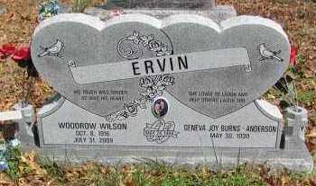 ERIN, WOODROW WILSON - Madison County, Arkansas   WOODROW WILSON ERIN - Arkansas Gravestone Photos