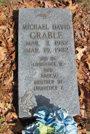 GRABLE, MICHAEL DAVID - Madison County, Arkansas | MICHAEL DAVID GRABLE - Arkansas Gravestone Photos