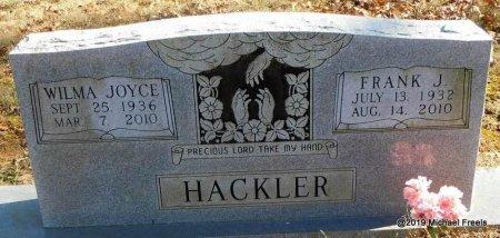 HACKLER, FRANK J. - Madison County, Arkansas | FRANK J. HACKLER - Arkansas Gravestone Photos