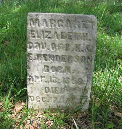 HENDERSON, MARGARET ELIZABETH - Madison County, Arkansas   MARGARET ELIZABETH HENDERSON - Arkansas Gravestone Photos