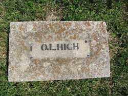 HIGH, O.L. - Madison County, Arkansas | O.L. HIGH - Arkansas Gravestone Photos