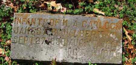CARLOCK, ALBERT - Madison County, Arkansas | ALBERT CARLOCK - Arkansas Gravestone Photos