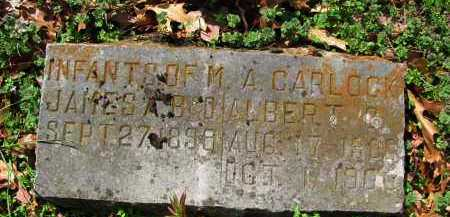 CARLOCK, JAMES - Madison County, Arkansas | JAMES CARLOCK - Arkansas Gravestone Photos