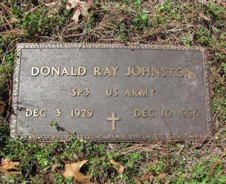JOHNSTON (VETERAN), DONALD RAY - Madison County, Arkansas | DONALD RAY JOHNSTON (VETERAN) - Arkansas Gravestone Photos