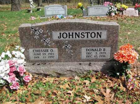 JOHNSTON, CHESSIE O. - Madison County, Arkansas | CHESSIE O. JOHNSTON - Arkansas Gravestone Photos