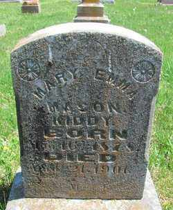 MASON KIDDY, MARY EMMA - Madison County, Arkansas | MARY EMMA MASON KIDDY - Arkansas Gravestone Photos
