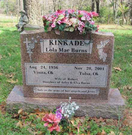 KINKADE, LOLA MAE - Madison County, Arkansas | LOLA MAE KINKADE - Arkansas Gravestone Photos