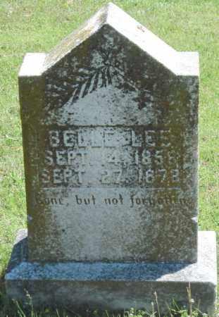 LEE, BELLE - Madison County, Arkansas   BELLE LEE - Arkansas Gravestone Photos