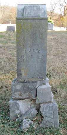 LEE, W J - Madison County, Arkansas | W J LEE - Arkansas Gravestone Photos