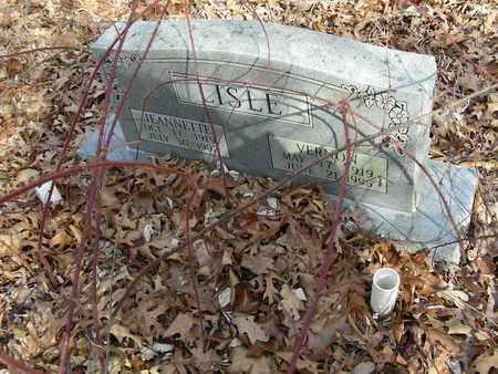 LISLE, JEANNETTE - Madison County, Arkansas | JEANNETTE LISLE - Arkansas Gravestone Photos