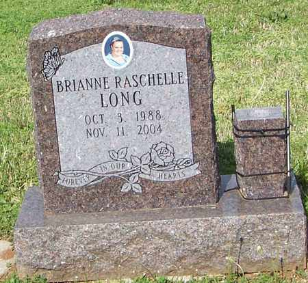 LONG, BRIANNE RASCHELLE - Madison County, Arkansas | BRIANNE RASCHELLE LONG - Arkansas Gravestone Photos